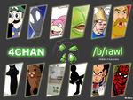 4chan brawl Hidden Characters by Mr-Kory