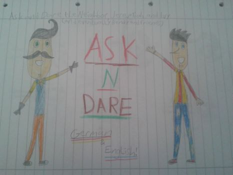 Ask n Dare Hello Neighbor! (German and English) by animelover2233