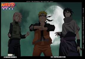 Naruto 632   Fighting Side By Side by Kakashidoe