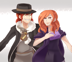 red heads by Scarletify