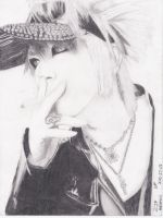 Ruki -The GazettE by StainedSerenity