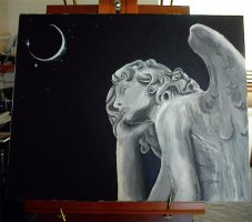 Angel Statue by Asilwen