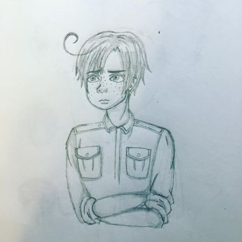 Quick Romano Sketch by oceangirl1