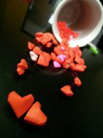 origami hearts for you by shionyan