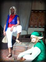 Link and Tetra: Wind Waker by Crappy-Happy-Cosplay