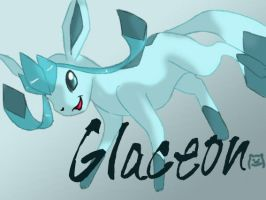 Glaceon by lagendarylugia