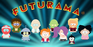 Futurama Goin' to South Park by Dosu