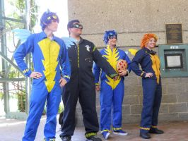 A-kon  23 MLP photoshoot : The Wonderbolts 03 by SilverMousyPie