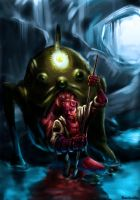 Hellboy: Little Big Trouble by Bardsville