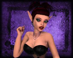 Elf Vampire Glamour by WilliamRumley