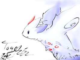 togekiss mouse drawing by 0xbakaxo