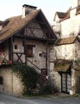Carennac 02 - Old house by HermitCrabStock