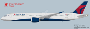 RS AEROSPACE S700 Delta Airlines DL207 by Schwann90