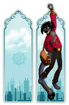 Bookmark : Desmond by Pfauenauge