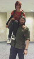 TLOU Youmacon 2013: Daddy Daughter relationship by thatsthatonegirl