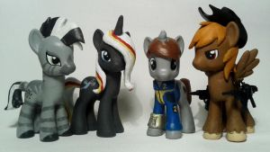Fallout Equestria Custom Group Photo by Oak23