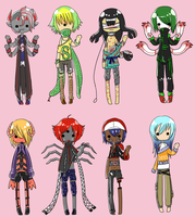 [OPEN] Monster Boy Adoptables by AdoptErrors