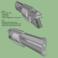 mangler 13 mm cannon by sexualtyranosaurus