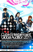 Cube Global Audition 2011 by udooboo