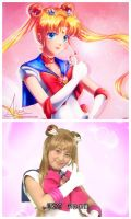 Pretty Guardian Sailor Moon [redraw] by Axsens