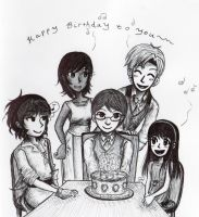 Birthday Song by sweet-suzume