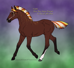1394 Foal Design REDESIGN by Cloudrunner64