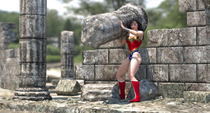 Wonder Woman 04 by Korvar