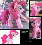 pinkie pie PLUSH by lemonkylie