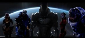 Mass Effect 3 - The Fantasy by not1stepbackwards