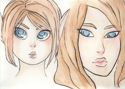 Young and older Orion by Tercenya