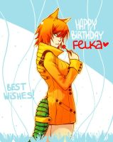 Happy birthday, Felka by Yufei