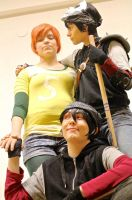Love Triangle - Casey Jones x2 and April by BroFist-InTheFACE