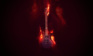 Guitar wallpaper by Artush