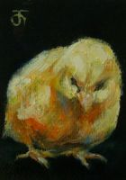 ACEO-Chick 02 by JACK-NO-WAR