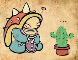 Rammus loves Cactus by Kiki-Bunni