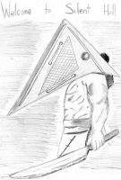 Pyramid Head by ShadowDark1