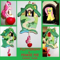 MLP Fluttershy Cuckoo Clock  NEW IMPROVED SOUND by MadPonyScientist