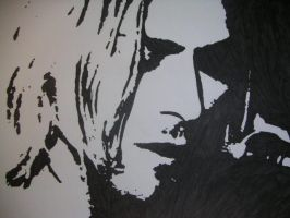 Kurt Cobain by Oskar1985