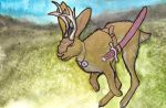 Jackalope on a Mission by Bewildermunster