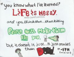Life is Messy... by mrsharryjpotter