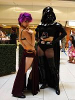 Sexy Vader and Company DragonCon 2013 by thesuper