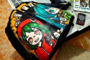Matryoshka Handpainted Bag by Kuroeno