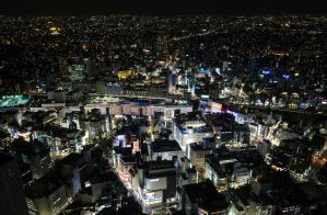 Ikebukuro Night by MarcAndrePhoto
