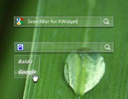 Glass SearchBar by fww115 by xwidgetsoft