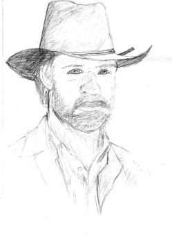Chuck Norris by GhoztRider
