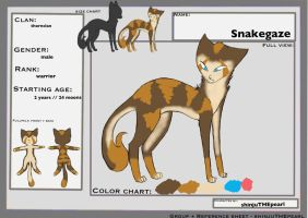 Snakegaze TcotV :::ref sheet::: example~ by TheClansOf-TheValley