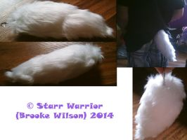 Small Fur Tail For My Brother by StarrWarrior