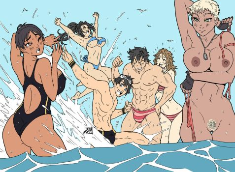ICNG: Crazy Beach Party by SNEEDHAM507
