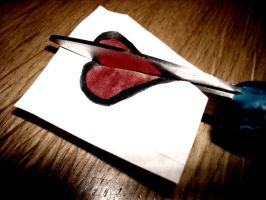 A Paper Heart Is No Different by theatricalillusion