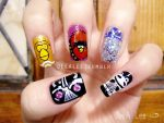 Angry Birds Star Wars Nails by jeealee